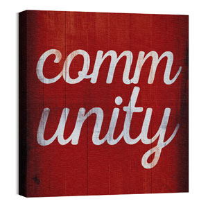 Mod Community 1 24 x 24 Canvas Prints