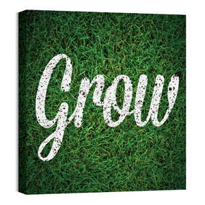 Mod Grow 24 x 24 Canvas Prints