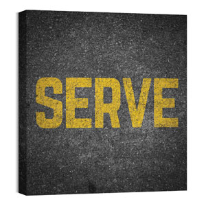 Mod Serve 24 x 24 Canvas Prints