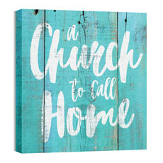 Mod Church Home Wall Art