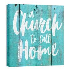 Mod Church Home Wall Art