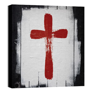 Mod Cross 1 Wall Art