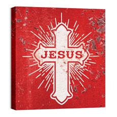 Mod Jesus Cross Wall Art