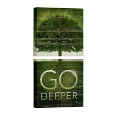 Mod Go Deeper Pair Wall Art