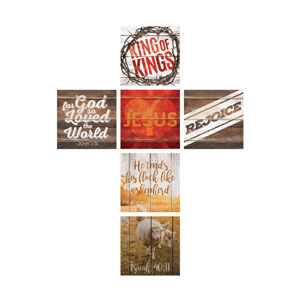 Mod Jesus Cross Set 24 x 24 Canvas Prints