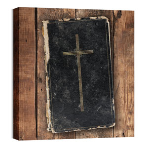 Mod Bible 1 24 x 24 Canvas Prints