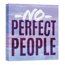 Mod No Perfect People Wall Art
