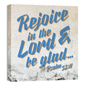 Mod Psalm 32 11 24 x 24 Canvas Prints