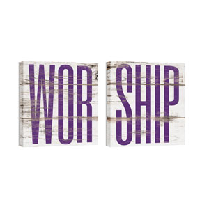 Mod Worship 1 Pair 24 x 24 Canvas Prints