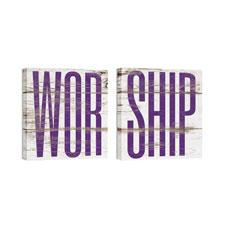 Mod Worship 1 Pair Wall Art