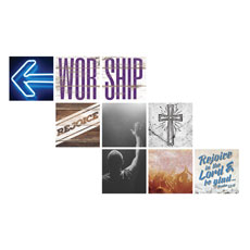 Mod Worship Arrow Set Wall Art