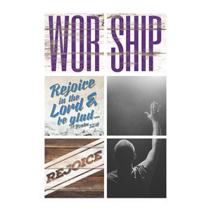 Mod Worship Rejoice Set Wall Art