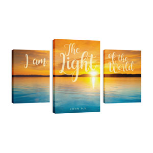Lake Light of World 30in x 50in Canvas Prints