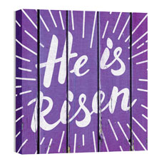 Mod He is Risen Burst Wall Art
