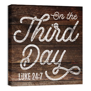 Mod Third Day 24 x 24 Canvas Prints