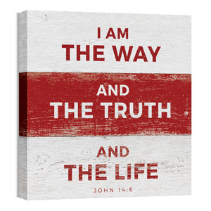 Mod Way Truth Life 24 x 24 Canvas Prints