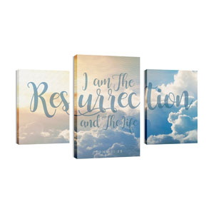 Resurrection Clouds Wall Art