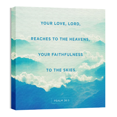 Faithfulness to the Skies Wall Art