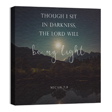 Lord Be My Light Wall Art