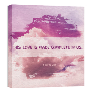 Love Made Complete Wall Art