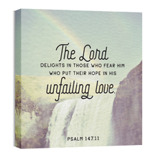 Waterfall Unfailing Love Wall Art