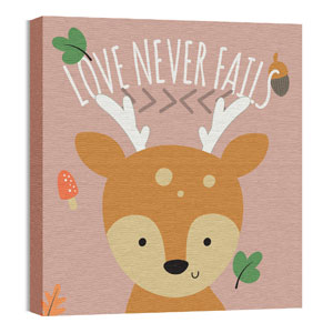 Woodland Friends Deer Wall Art