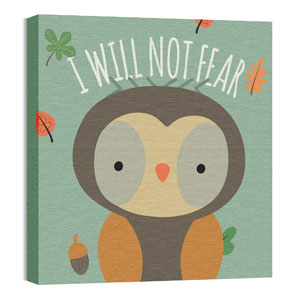 Woodland Friends Owl Wall Art