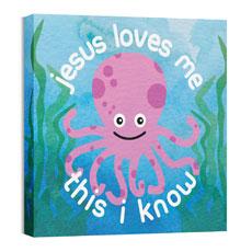 Ocean Buddies Octopus Wall Art