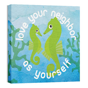 Ocean Buddies Sea Horse Wall Art