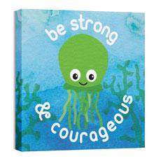 Ocean Buddies Squid Wall Art