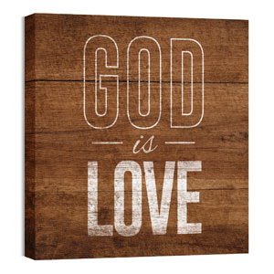 Mod God Is Love Wall Art