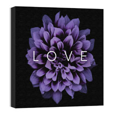 Mod Love Purple Flower