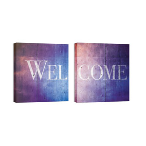 Mod Welcome Pair 5 Wall Art