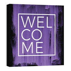 Mod Welcome Purple