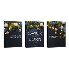Savior Born Christmas Triptych