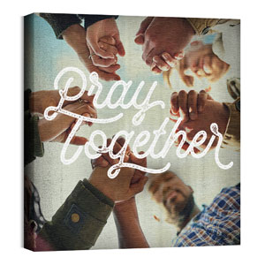 Mod Pray Together Wall Art