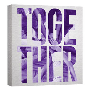 Mod Together 2 24 x 24 Canvas Prints