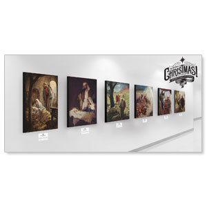Story of Christmas Art Set Wall Art