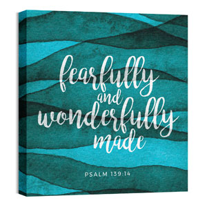 Fearfully Made 24 x 24 Canvas Prints