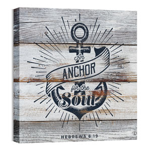 Mod Anchor 24 x 24 Canvas Prints
