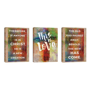 This is Love 2 Cor 5:17 24in x 36in Canvas Prints
