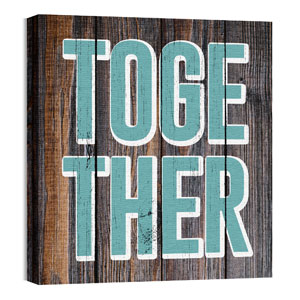 Mod Together 3 24 x 24 Canvas Prints