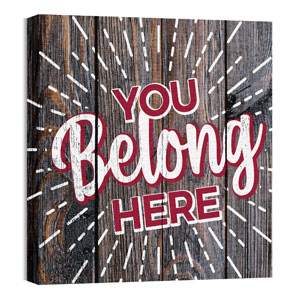 Mod You Belong Here 24 x 24 Canvas Prints