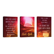 But God Triptych