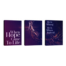 Hope Came to Life Triptych