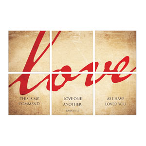Mod Love Set 24 x 24 Canvas Prints