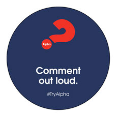 Alpha Comment Out Loud Navy