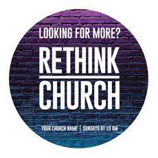Rethink Church Bricks