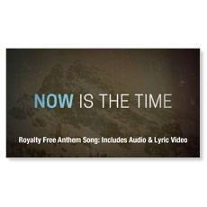 Now Is The Time Anthem Song Audio Download