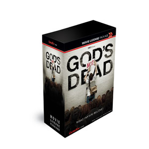 Gods Not Dead Movie License Packages